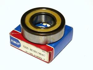 NEW IN BOX SKF BALL BEARING 25MM X 52MM X 15MM 7205 BECBY / W64C