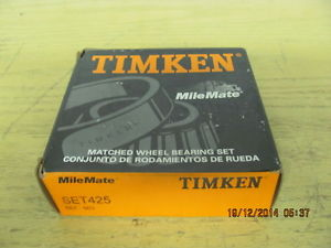 Timken Set425 Matching Wheel Bearing Set 567-563