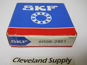 SKF 6008-2RS1 SINGLE ROW BALL BEARING 40 X 68 X 15MM NEW CONDITION IN BOX