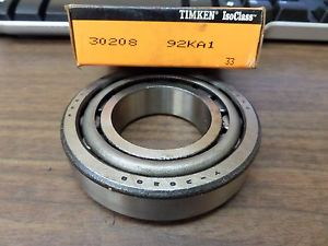 NEW TIMKEN TAPERED ROLLER BEARING 30208 92KA1 Y-30208 Y30208 X30208