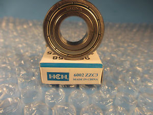 HCH 6002 ZZ, 2Z C3, Ball Bearing,Compare 2 SKF 6002 2Z)