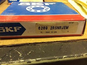 SKF,bearings#6209 2RSNRJEM,30day warranty, free shipping lower 48!