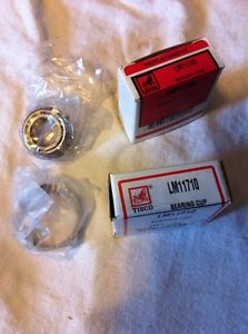 Tisco LM11749 Tapered Roller Bearing W/ LM11710 Bearing Cup timken