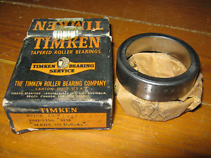 Vintage NOS Timken 09195 Tapered Roller Bearing Race Cup