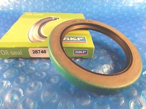SKF 28746, CR 28746, Chicago Rawhide, Dual Lip with Spring Shaft Seal