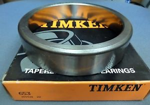NEW TIMKEN TAPERED OUTER RACE BEARING 653