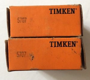 (2) TIMKEN 5707 Axle Bearing Rear for GM Dodge Ford Honda Jeep 3W1Z1225AA OEM