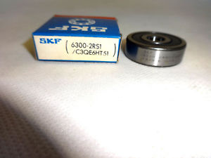 NEW IN BOX SKF 6300-2RS1/C3QE6HT51 BALL BEARING