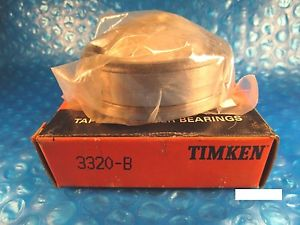 Timken 3320-B, Tapered Roller Bearing Single Cup with Flange