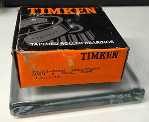 Timken – HM212049X – Tapered Roller Bearing