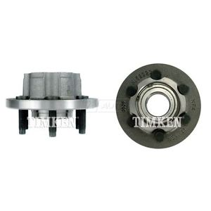 Front Wheel Hub & Bearing Pair TIMKEN for Dodge Truck 2WD