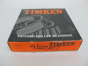 """Timken 77675 Tapered Roller Bearing Cup Chrome Steel 6.75"""" OD, 1.50 Width"""