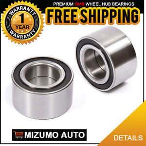 2 New Front Left and Right Wheel Hub Ball Bearing Pair GMB 799-0003