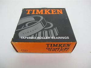 """Timken 6320 Tapered Roller Bearing Cup Chrome Steel 5-11/32"""" OD, 1-3/4"""" Width"""