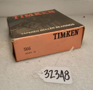 Timken 566 Tapered Roller Bearing (Inv.32348)