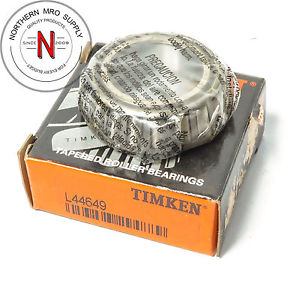 """TIMKEN L44649 Tapered Roller Bearing Cone – 1-1/16"""" ID, 0.58"""" Cone Width"""