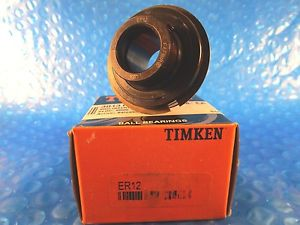 Timken ER12, ER Industrial Series Wide Inner Ring Ball Bearing