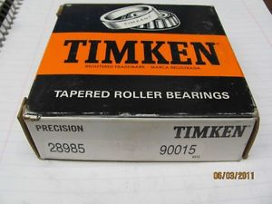 Timken Tapered Roller Bearing 28985 90015 Class 0 Precision