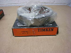 "NEW Timken 77675 Tapered Roller Bearing Cup Chrome Steel 6.75"" OD, 1.50 Width"