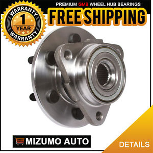 1 New Front Left or Right Wheel Hub Bearing Assembly w/o ABS GMB 720-0019