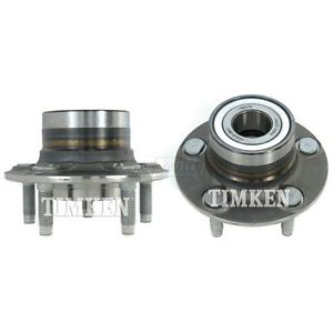 Rear Wheel Hub & Bearing Pair Set TIMKEN for Taurus Sable