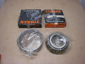 Timken 77675 Tapered Bearing Cup And 77675 Tapered Roller Bearing Cone Chrome