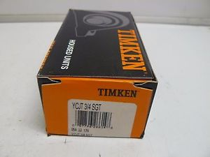 NEW TIMKEN YCJT 3/4 SGT PILLOW BLOCK BEARING 3/4 INCH BORE