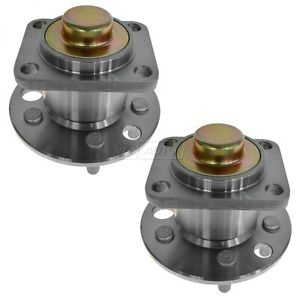Rear Wheel Hub & Bearing Pair Set TIMKEN for Chevy Pontiac