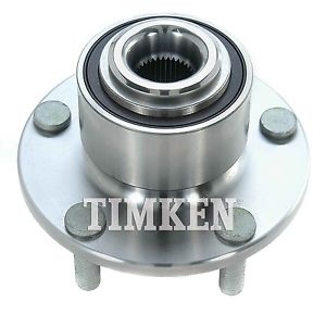 Wheel Bearing & Hub Assembly fits 2004-2008 Mazda 3 TIMKEN