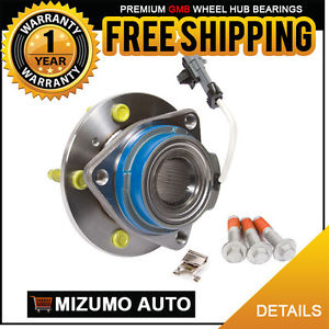 1 New Front Left or Right Wheel Hub Bearing Assembly w/ ABS GMB 730-0003