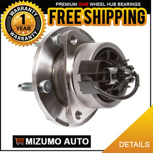 1 New Front Left or Right Wheel Hub Bearing Assembly w/ ABS GMB 799-0297