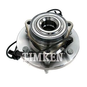 Wheel Bearing and Hub Assembly Front TIMKEN SP550311 fits 06-08 Hummer H3