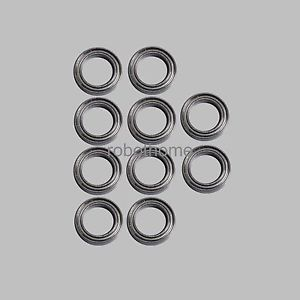 10PCS (12x18x4mm) Thin-Section Bearing 6701 61701ZZ Deep Groove Ball 12*18*4mm