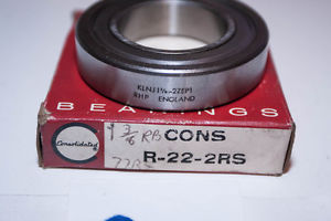 """""""NEW OLD"""" Consolidated Ball Bearing R-22-2RS / RHP KLNJ 1-3/8 – 2ZEP1"""