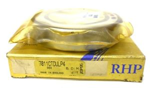 "RHP BEARING ON BOX: 7011CTDULP4, ON BEARING: 7011CTSULP4, 3 1/2"" X 2 1/4"" X 3/4"""