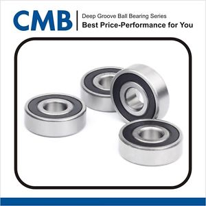4PCS 689-2RS Rubber Sealed Ball Bearing Miniature Ball Bearings 9x17x5 mm