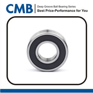 6003-2RS C3 Rubber Sealed Ball Bearing Miniature Bearing 17 x 35 x 10mm New