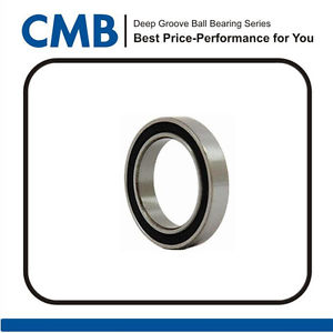 1PCS 6810-2RS (50x65x7 mm) Rubber Sealed Ball Bearing 6810-2rs