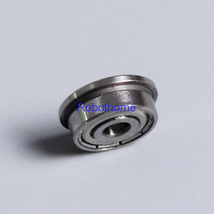 flange bush F623ZZ 3x10x4mm Miniature deep groove ball bearing 3*10*4mm With rib