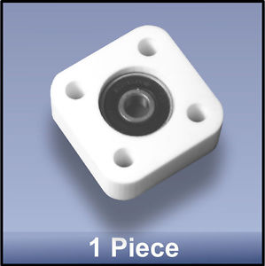 Miniature Quality CNC 6mm 4 Bolt Square Block Flange Bearing Block fs – 1 piece