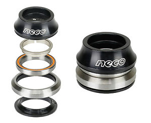 """Bike CNC Alloy Taper Integrated Headset 1-1/8"""" 1-1/4"""" with Top 15mm ACB Bearing"""