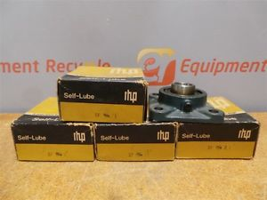 "RHP 1"" 4 Bolt Flange Bearings SF3 New Lot of 5"
