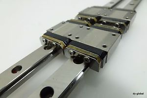 NSK Miniature LM Guide Linear Bearing LU120478TR+478L 2Rail 4Block CNC LMG-I-22