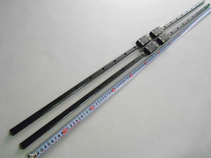 NSK S15 Linear bearings & rails L1237mm cnc thk router