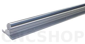 SBR16-600mm 16mm FULLY SUPPORTED LINEAR RAIL SHAFT CNC ROUTER SLIDE BEARING ROD