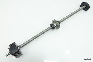 BLK1510+550mm THK Rolled Ball screw BK10+BF10 Used Linear Actuator bearing