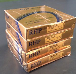 RHP 2 PAIRS OF SUPER PRECISION BEARING 7209CTDULP4 SEALED
