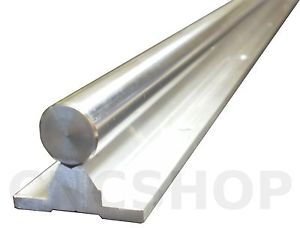 SBR25-1000mm 25mm FULLY SUPPORTED LINEAR RAIL SHAFT CNC ROUTER SLIDE BEARING ROD