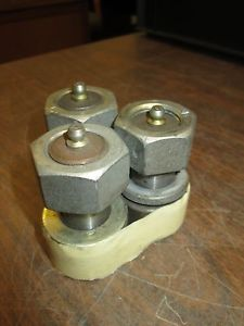Smith Bearing Cam Follower HR-1-1/2-XB Hex Socket Needle Roller Sealed Lot of 3