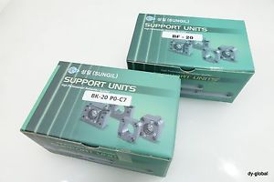 Ball Screw Support unit BK20+BF20 BK25+BF25 PO-C7 Fixture and support parts CNC